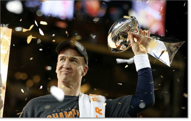 Peyton Manning Super Bowl 50