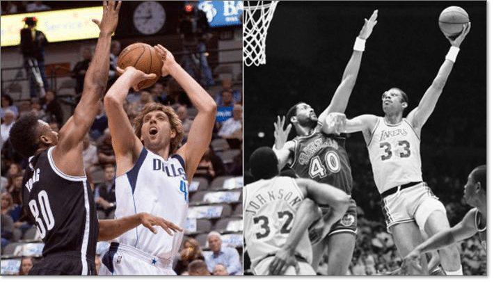 Nowitzki vs. Kareem
