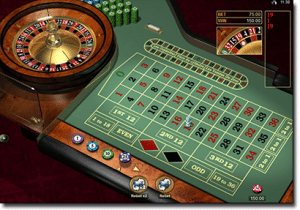 Online roulette games by Microgaming