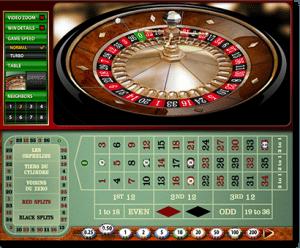 European Gold Roulette online