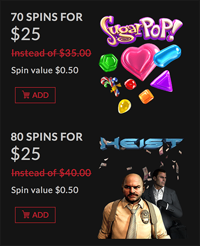 Score free spins and money in the boombet store
