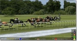 Virtual Racebook 3D horse racing by BetSoft
