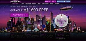 Jackpot City no download casino site