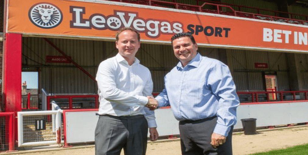 Leo Vegas sponsors Brentwood FC