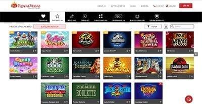 Royal Vegas Casino instant play no download casino