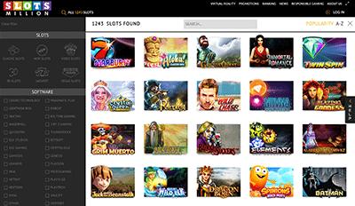 No download casino Slots Million
