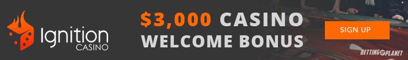 Ignition online casino sign up bonus
