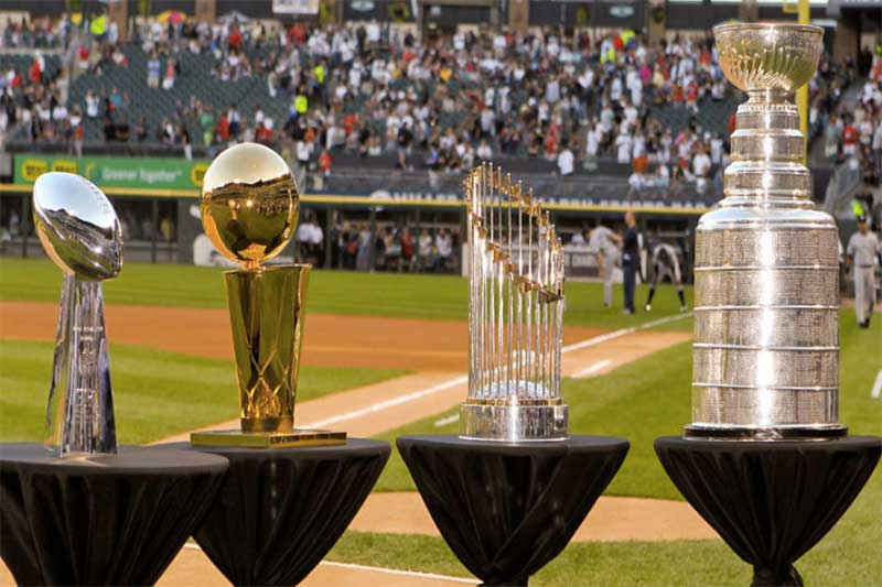 Four major sporting leagues