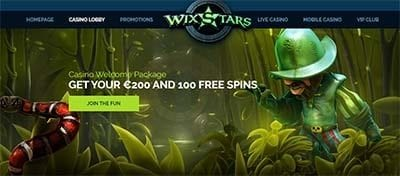 Wixstars sign up bonuses and promotions