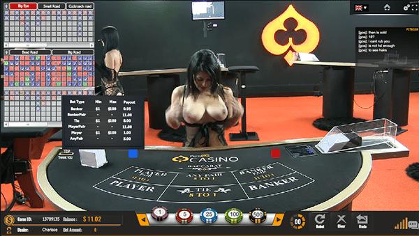 Pornhub live dealer baccarat online for real money