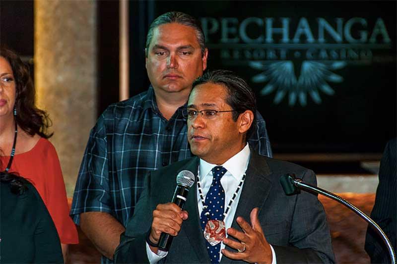 Tribal Chairman of the Pechanga Band of Luiseño Indians
