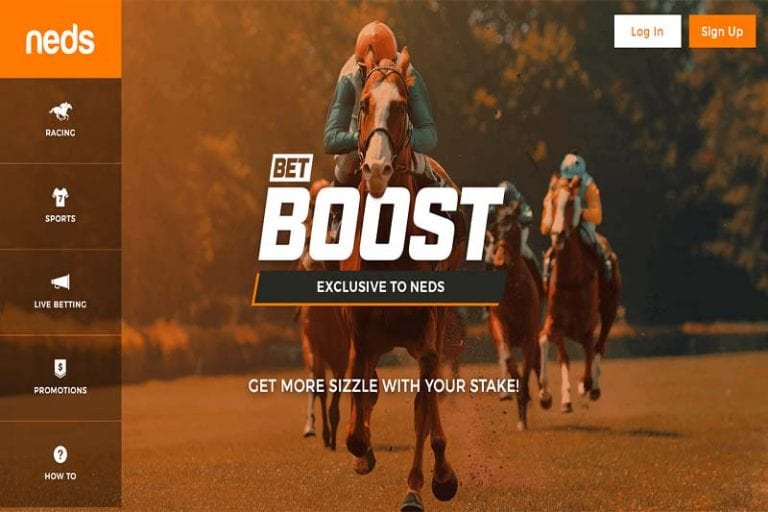Neds online bookmaker and Neds Lottery launch