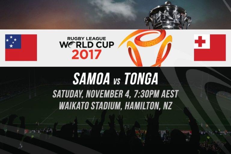 RLWC Samoa vs. Tonga