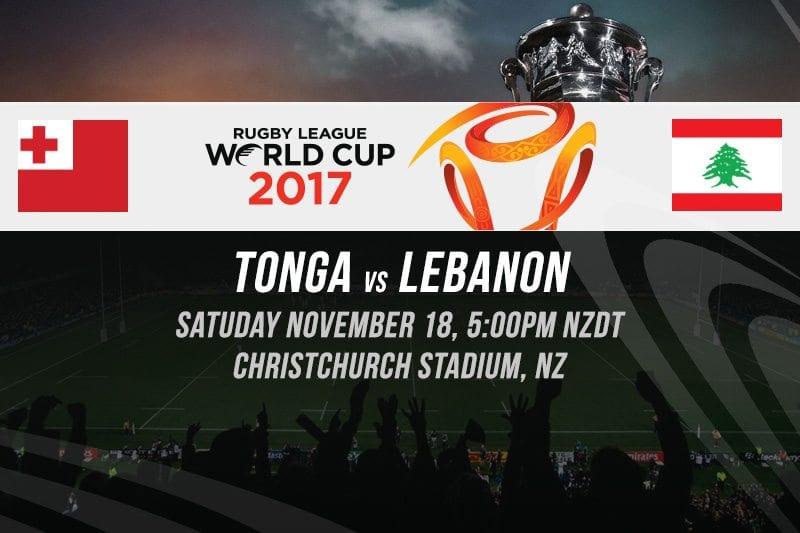RLWC Tonga vs Lebanon