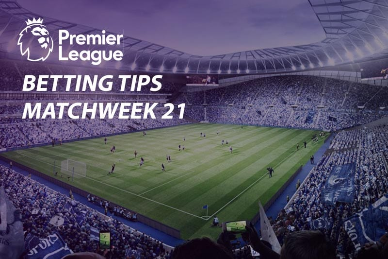 EPL Matchweek 21 soccer betting