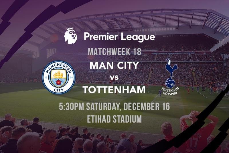 Man City vs. Spurs EPL betting