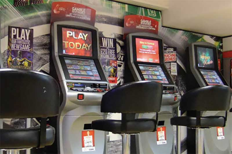 FOBT machines at UK betting shops