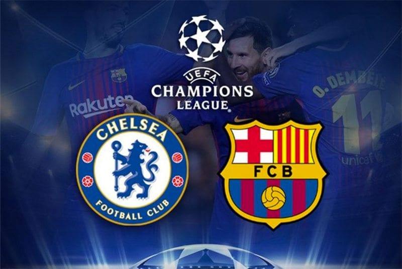 Chelsea vs. Barca Champions League