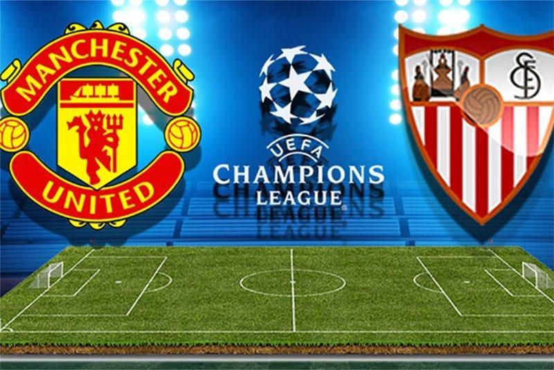 Man Utd v Sevilla Champions League