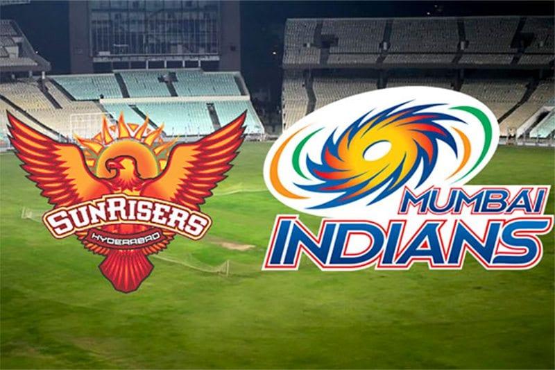 IPL sunrisers v indians