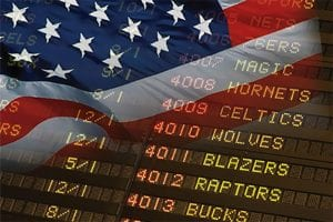 USA sports betting legalised
