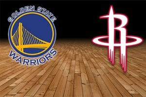 GS v HOU NBA Playoffs