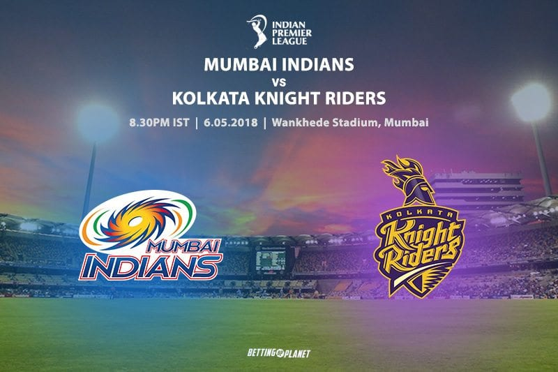 Indians vs Knight Riders