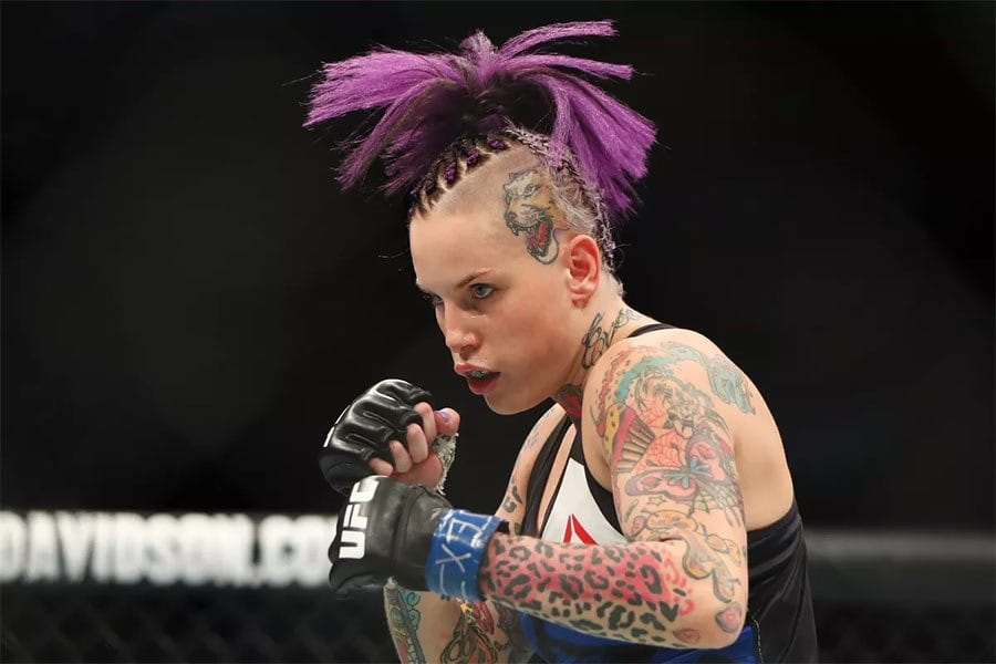 MMA fighter Bec Rawlings