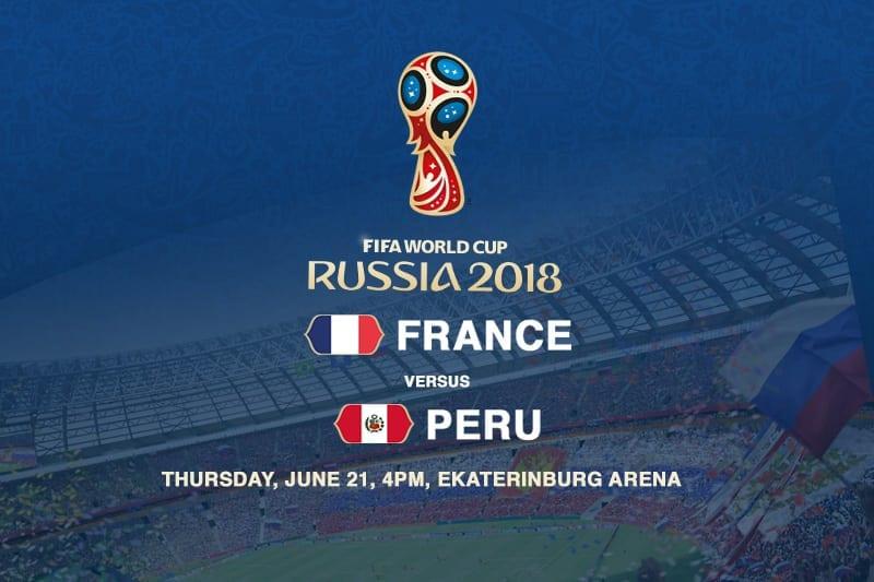 France v Peru