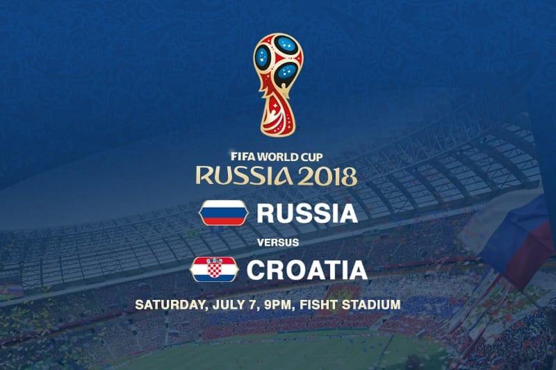 Russia v Croatia