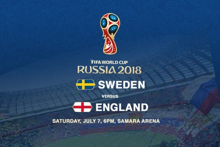 Sweden v England