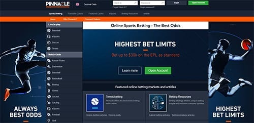 Pinnacle Online Sportsbook