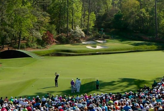 US Masters golf betting