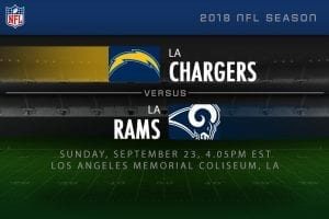 Chargers v Rams NFL week 3