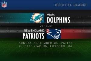 Dolphins v Patriots