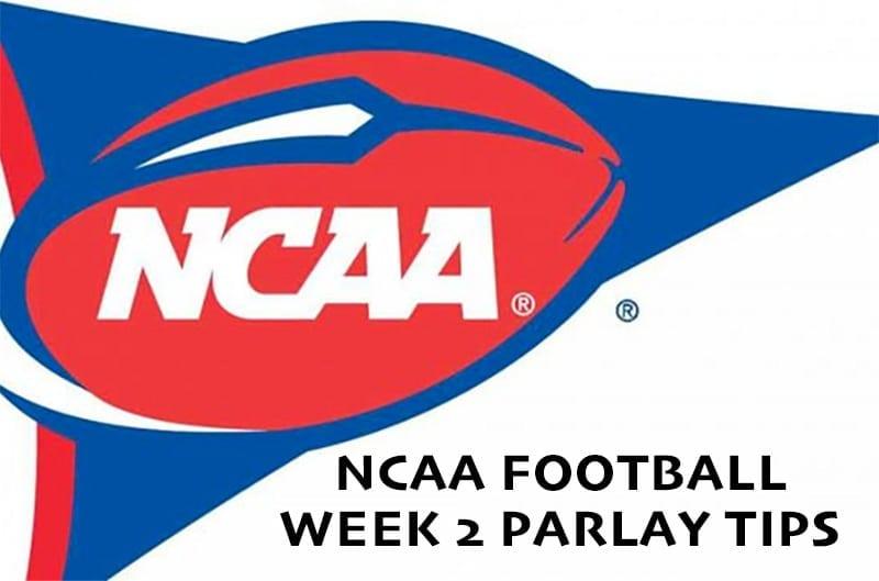 NCAA parlay week 2