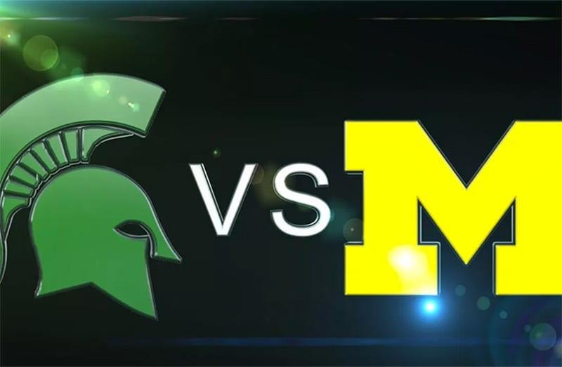 Michigan Wolverines vs. Michigan State