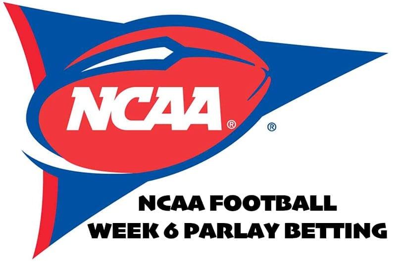 NCAA Week 6 parlay