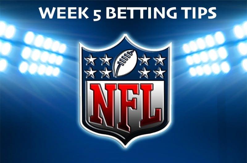 NFL Week 5 tips