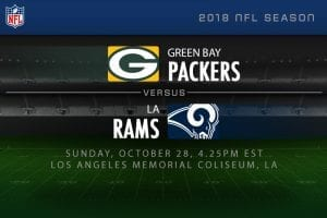 Packers v Rams NFL