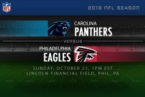 Panthers vs. Eagles