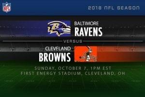 Ravens v Browns NFL