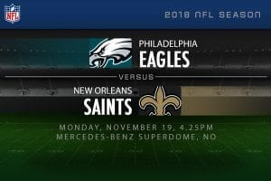 Eagles v Saints