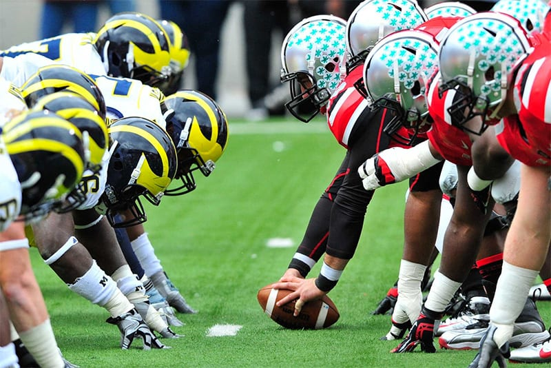 Michigan Wolverines vs. Ohio State Buckeyes