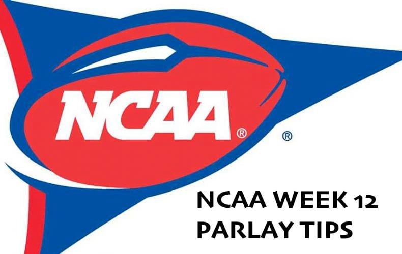 NCAA week 12 parlay