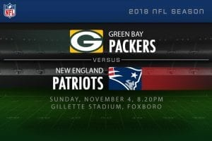 Packers vs Patriots NFL