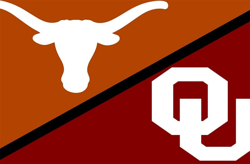 Texas Longhorns vs. Oklahoma Sooners