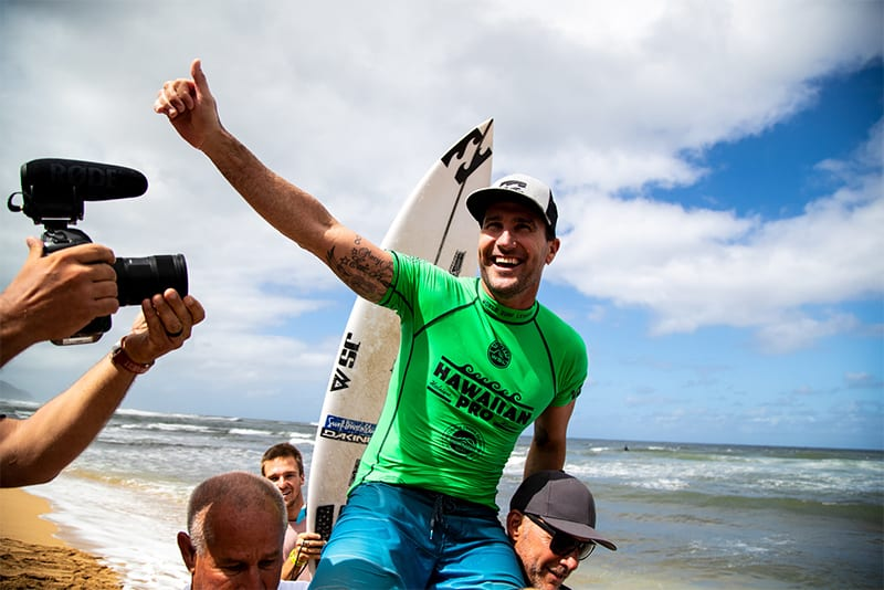 Joel Parkinson wins the 2018 Hawaiian Pro