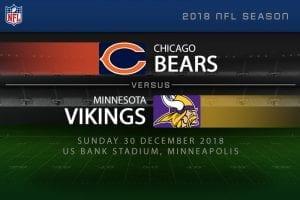 Chicago Bears vs. Minnesota Vikings betting odds & tips for week 17