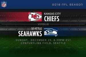 Chiefs v seahawks